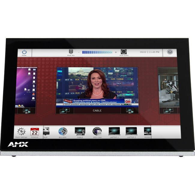 "AMX 10.1"" Modero S Series Tabletop Touch Panel"