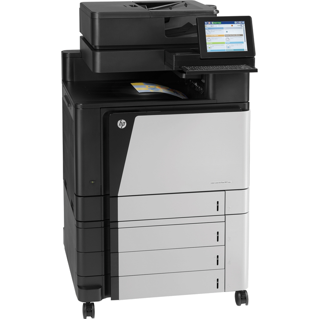 HP LaserJet M880Z Laser Multifunction Printer - Color - Plain Paper Print - Floor Standing