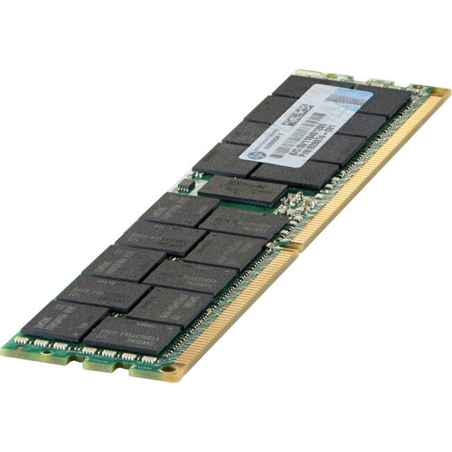 HP 16GB (1x16GB) Dual Rank x4 PC3-14900R (DDR3-1866) Registered CAS-13 Memory Kit