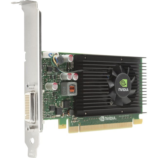 HP Quadro NVS 315 Graphic Card - 1 GB DDR3 SDRAM - PCI Express 2.0 x16 - Low-profile