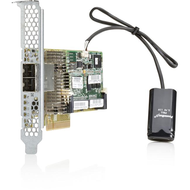 HP Smart Array P430/2GB FBWC 6Gb 1-port Int SAS Controller