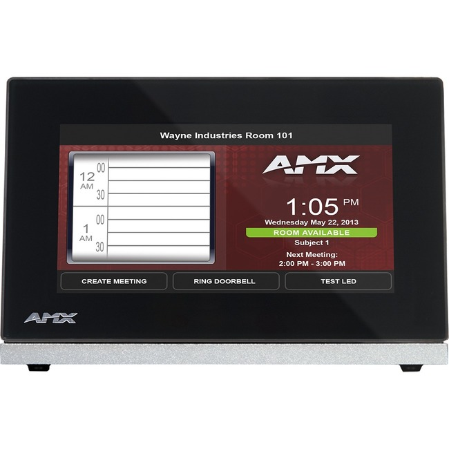 "AMX 4.3"" Modero S Series Tabletop Touch Panel"