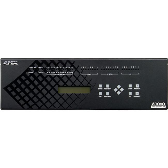 AMX Enova DVX-3156HD-T Audio/Video Switchbox 2-Position Captive Wire Connectors