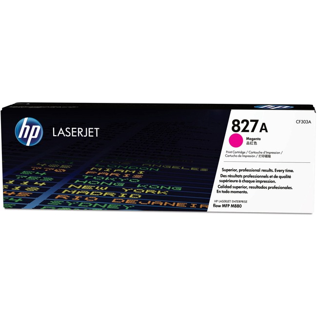 HP 827A (CF303A) Magenta Original LaserJet Toner Cartridge