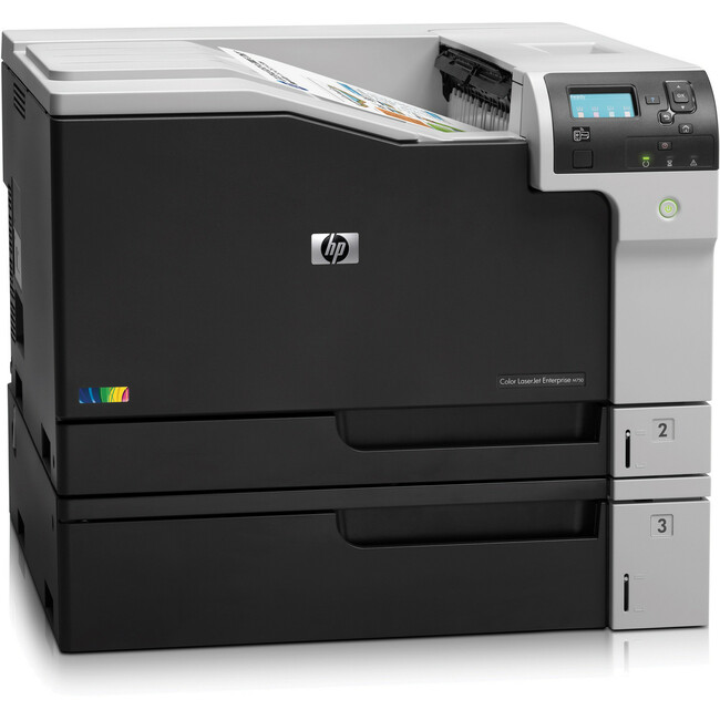 HP LaserJet M750N Laser Printer - Color - 600 x 600 dpi Print - Plain Paper Print - Desktop