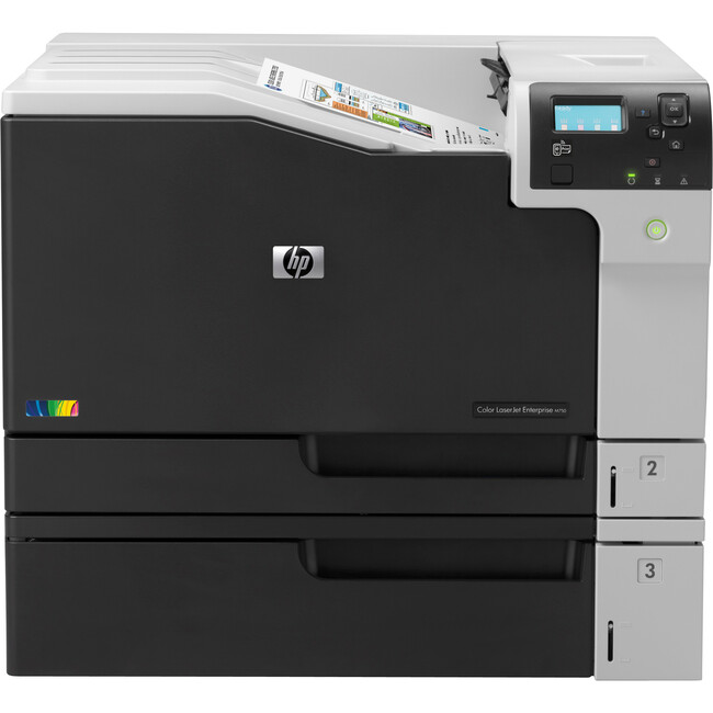 HP LaserJet M750DN Laser Printer - Color - 600 x 600 dpi Print - Plain Paper Print - Desktop