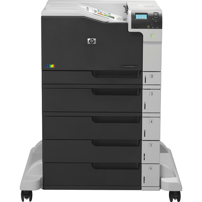 HP LaserJet M750xH Laser Printer | Color | 600 x 600 dpi Print | Plain Paper Print | Desktop
