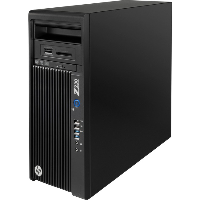 HP Z230 Workstation - 1 x Intel Core i5 i5-4570 Quad-core (4 Core) 3.20 GHz - 8 GB DDR3 SDRAM - 500 GB HDD - AMD FirePro