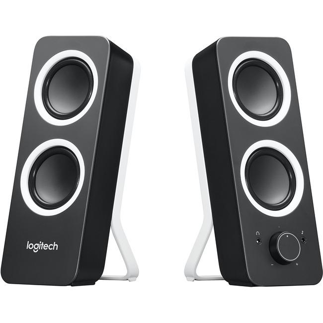 Logitech Z200 2.0 Speaker System - 10 W RMS - Black