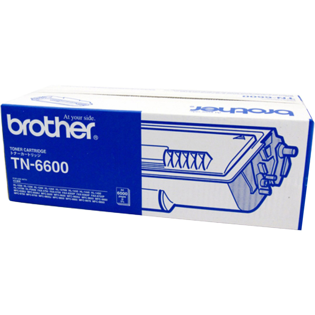 Brother TN-6600 Toner Cartridge - Black