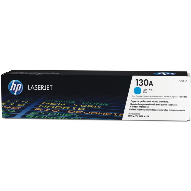 HP 130A Toner Cartridge - Cyan