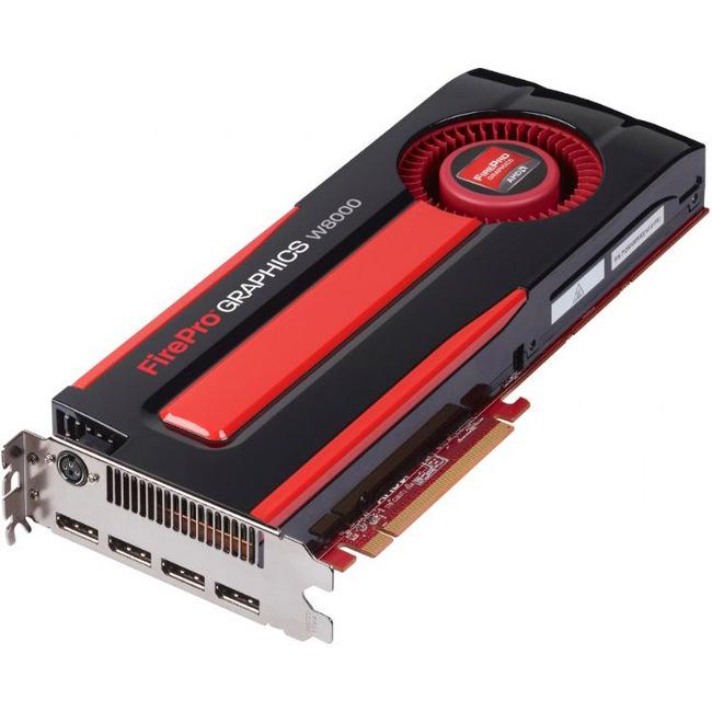 Sapphire Video Card 100-505845 AMD FirePro W8000 4GB DDR5 256Bit PCI Express 4xDisplayPort Retail
