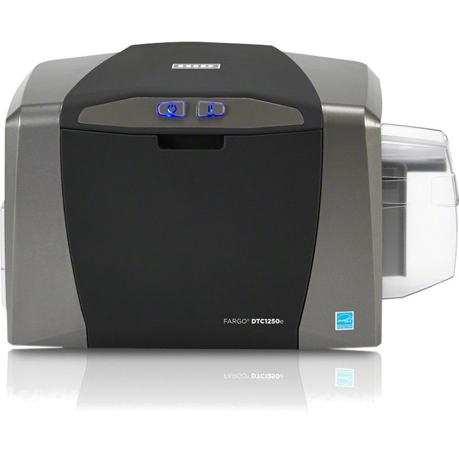 Fargo DTC1250e Single Sided Dye Sublimation/Thermal Transfer Printer - Color - Desktop - Card Print