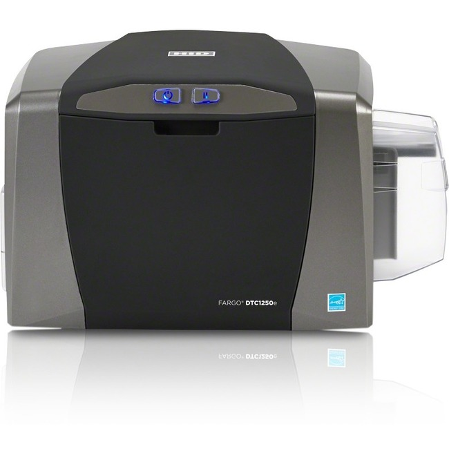 Fargo DTC1250e Double Sided Dye Sublimation/Thermal Transfer Printer - Color - Desktop - Card Print
