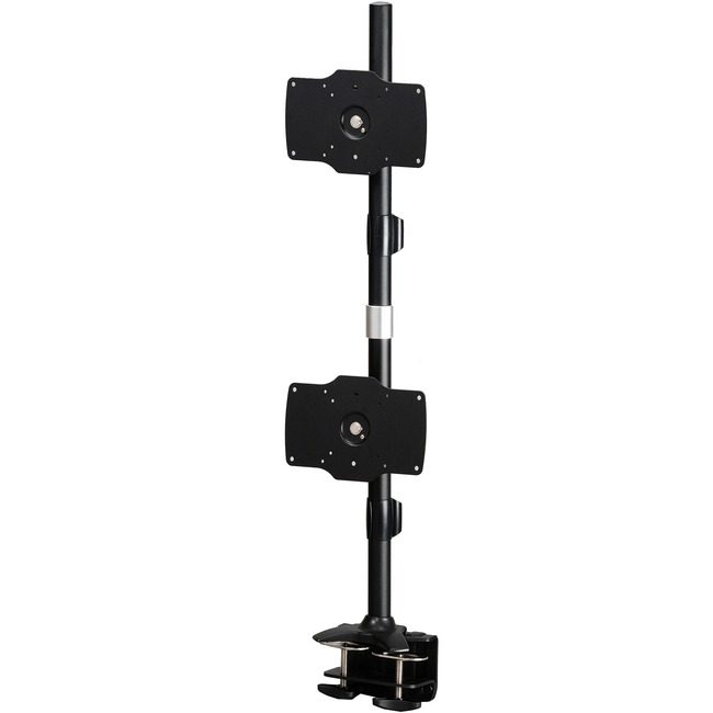 "Amer Mounts Clamp Based Hex Monitor Mount for six 15""-24"" LCD/LED Flat Panel Screens Vertical Clamp Based Dual Monitor Mount for two 24""-32"" LCD/LED Flat Panels"
