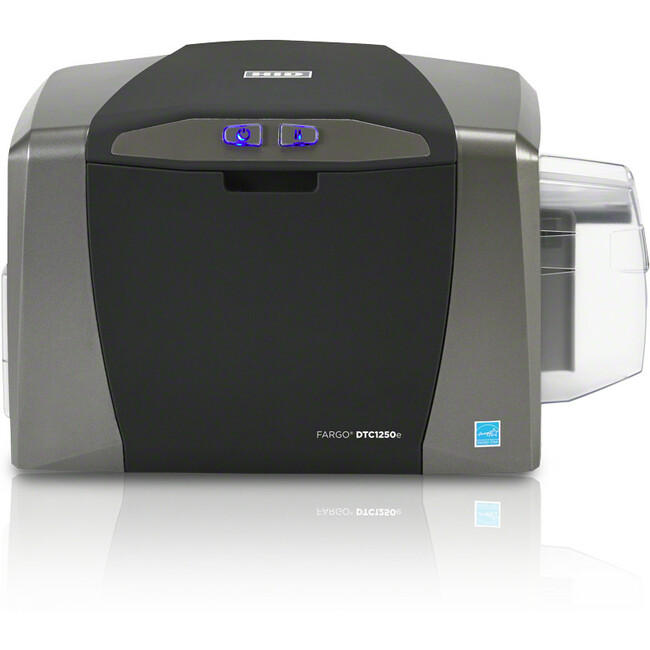 Fargo DTC1250e Dye Sublimation/Thermal Transfer Printer - Color - Desktop - Card Print