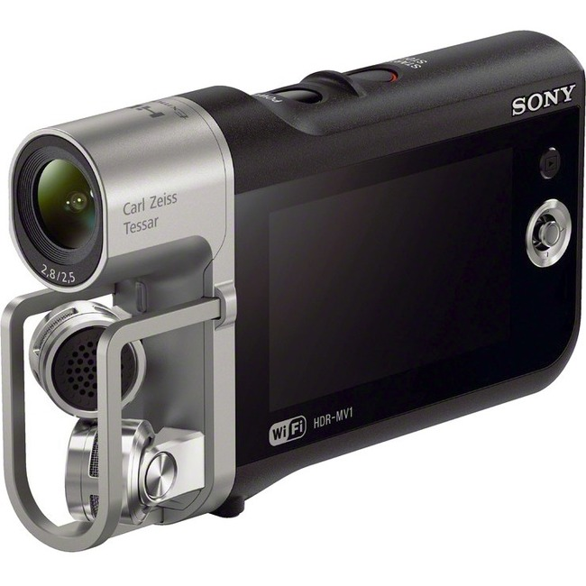 "Sony Handycam HDR-MV1 Digital Camcorder - 2.7"" LCD - Exmor R CMOS - Full HD"