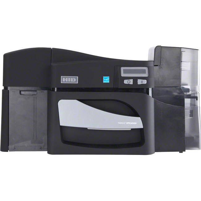 Fargo DTC4500E Single Sided Dye Sublimation/Thermal Transfer Printer - Color - Desktop - Card Print
