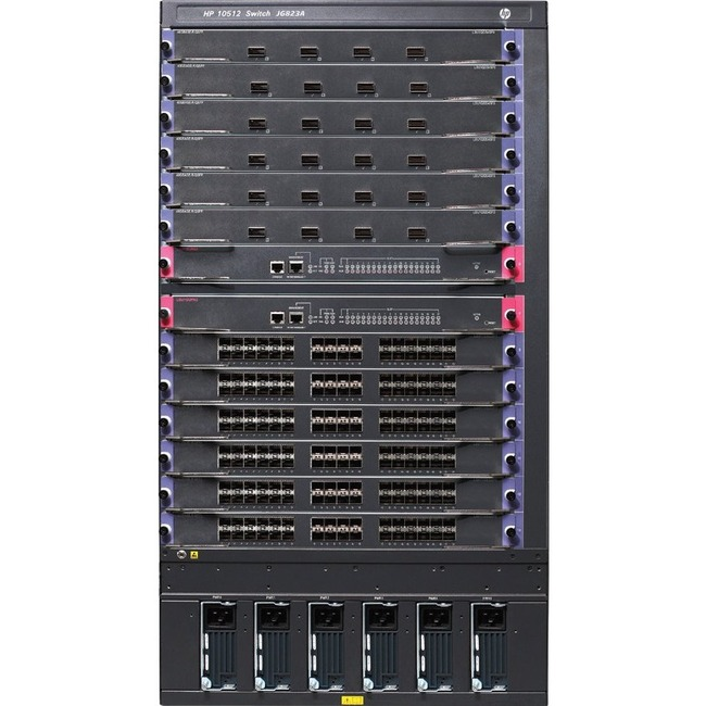 HP 10512 Switch TAA-Compliant Chassis