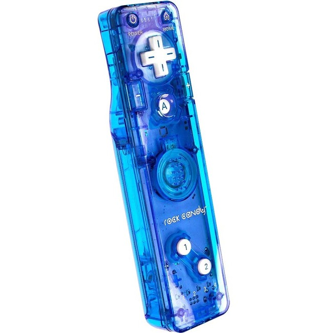 Rock Candy Gesture Controller for Wii-Blue