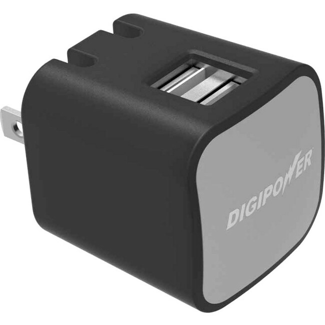 2.4 AMP DUAL USB CHARGER NO CABLES