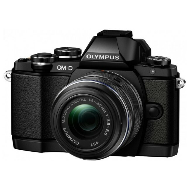 Olympus OM-D E-M10 16.1 Megapixel Mirrorless Camera with Lens - 14 mm - 42 mm - Black