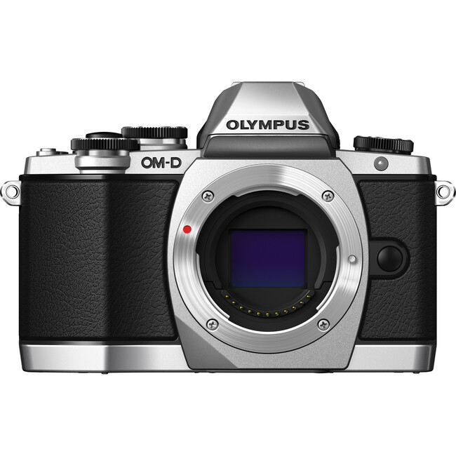 Olympus OM-D E-M10 16.1 Megapixel Mirrorless Camera Body Only - Silver