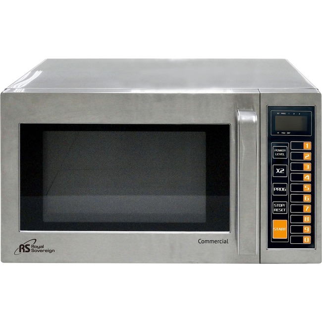 ROYAL SOVEREIGN COMMERCIAL MICROWAVE 0.9 CF 1000W STAINLESS STEEL
