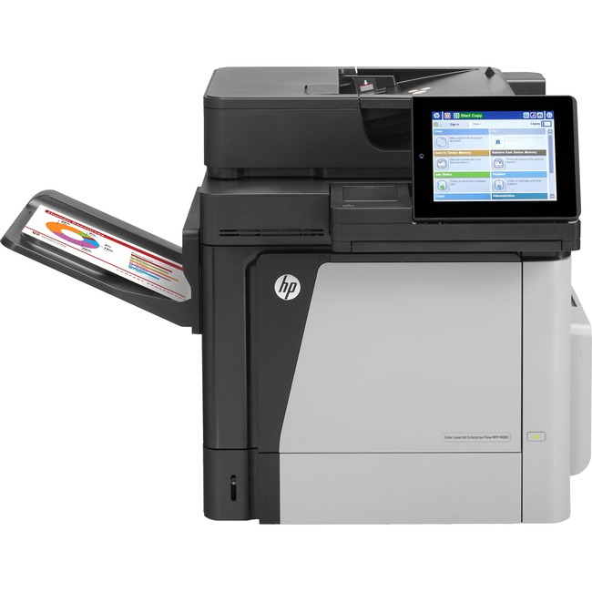 HP LaserJet M680DN Laser Multifunction Printer - Color - Plain Paper Print - Desktop
