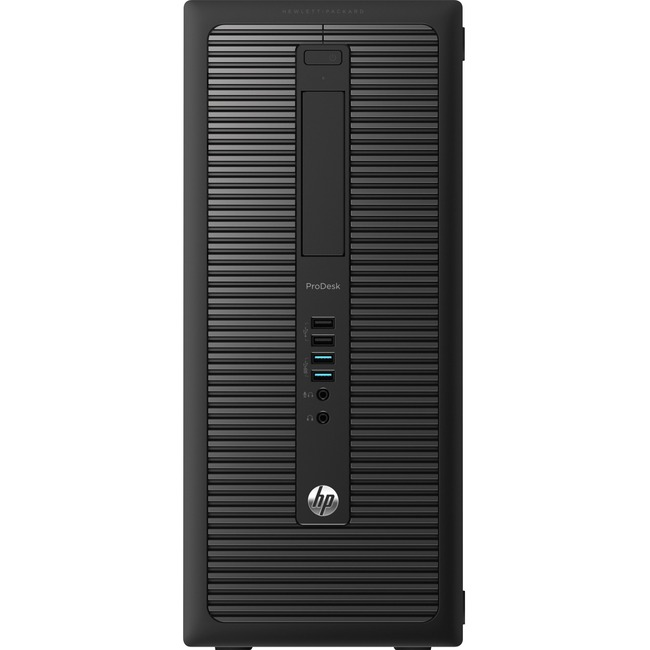 HP Business Desktop ProDesk 600 G1 Desktop Computer - Intel Core i7 (4th Gen) i7-4770 3.40 GHz - 16 GB DDR3 SDRAM - 128
