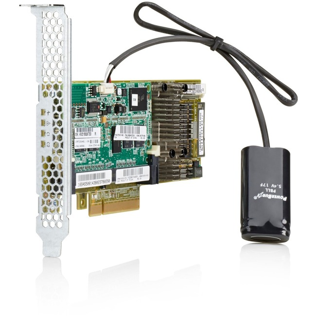 HP Smart Array P430/4GB FBWC 6Gb 1-port Int SAS Controller