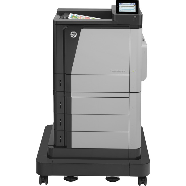 HP LaserJet M651xH Laser Printer - Color - 1200 x 1200 dpi Print - Plain Paper Print - Desktop