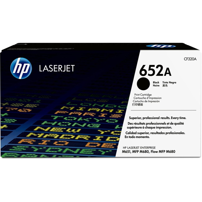 HP 652A Original Toner Cartridge - Black