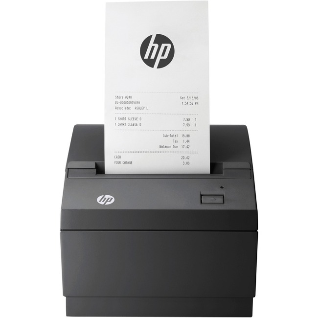 HP Direct Thermal Printer - Monochrome - Desktop - Receipt Print