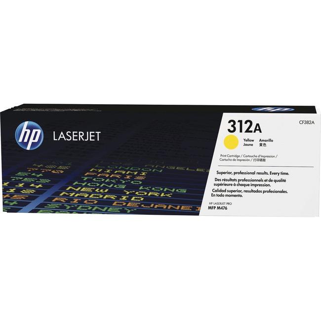 HP 312A Yellow Laser Toner Cartridge