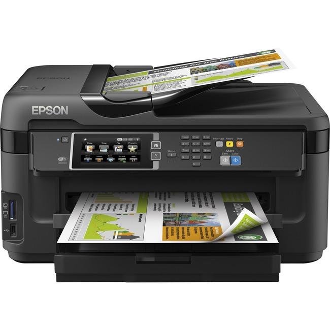 Epson WorkForce 7610 Inkjet Multifunction Printer - Color - Photo Print - Desktop