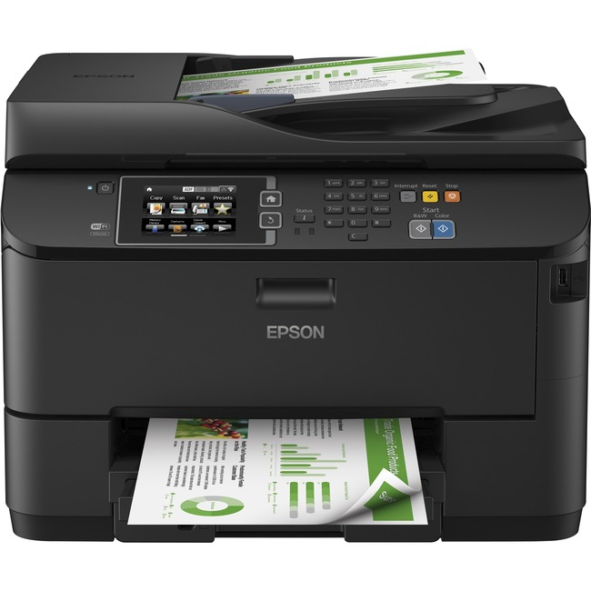 Epson WorkForce Pro WF-4630 Inkjet Multifunction Printer - Color - Plain Paper Print - Desktop