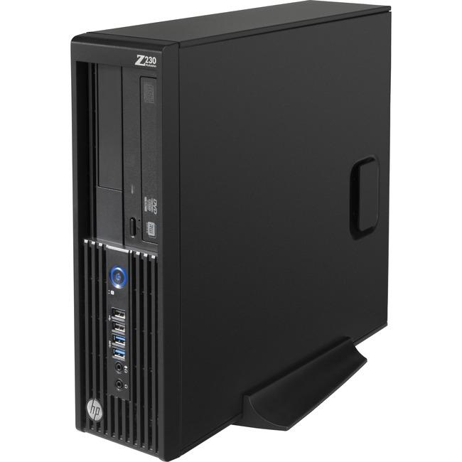 HP Z230 Workstation - 1 x Intel Core i5 (4th Gen) i5-4570 Quad-core (4 Core) 3.20 GHz - 8 GB DDR3 SDRAM - 128 GB SSD - I