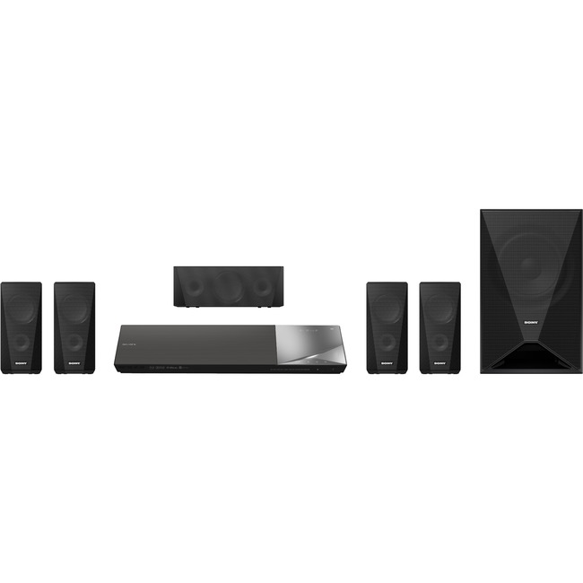 Sony BDV-N5200W 5.1 3D Home Theater System - 1000 W RMS - 1080p - Blu-ray Disc Player - Black