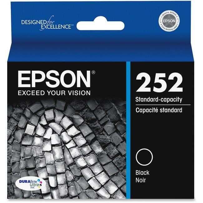 Epson DURABrite Ultra T252120 Ink Cartridge   Black