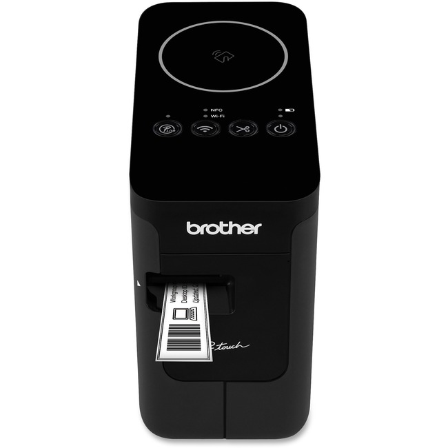 Brother P-touch PT-P750w Thermal Transfer Printer - Color - Desktop - Label Print