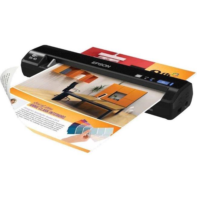Epson WorkForce DS-40 Sheetfed Scanner   600 dpi Optical