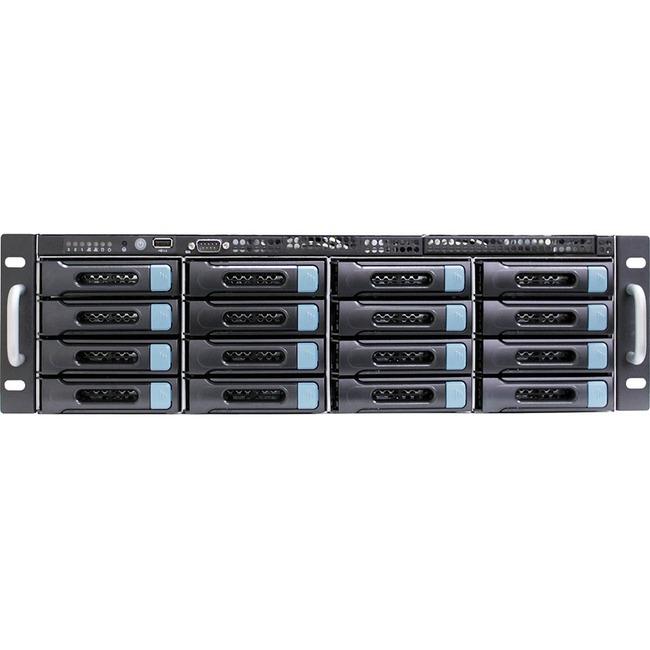 AIC SB302-CP2 Barebone System - 3U Rack-mountable - Intel C602 Chipset - Socket R LGA-2011 - 2 x Processor Support