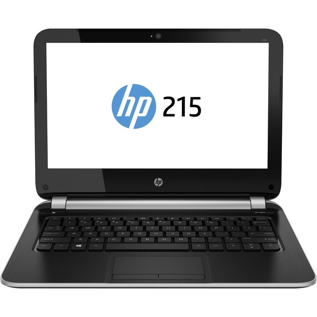 """HP 215 G1 11.6"""" LCD Notebook - AMD A-Series A4-1250 Dual-core (2 Core) 1 GHz - 8 GB - 320 GB HDD - 1366 x 768 - Silver"""