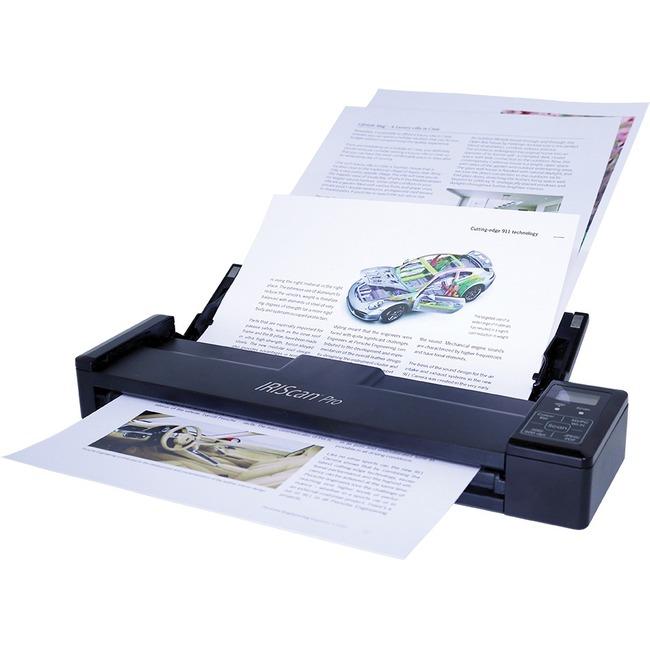 I.R.I.S IRIScan Pro 3 Wifi Cordless Sheetfed Scanner | 600 dpi Optical
