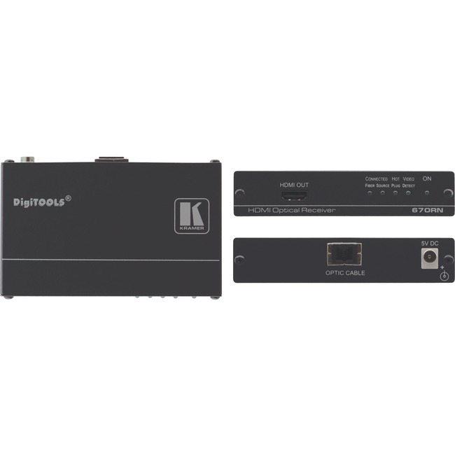 Kramer 670RN HDMI over Fiber Optic Receiver