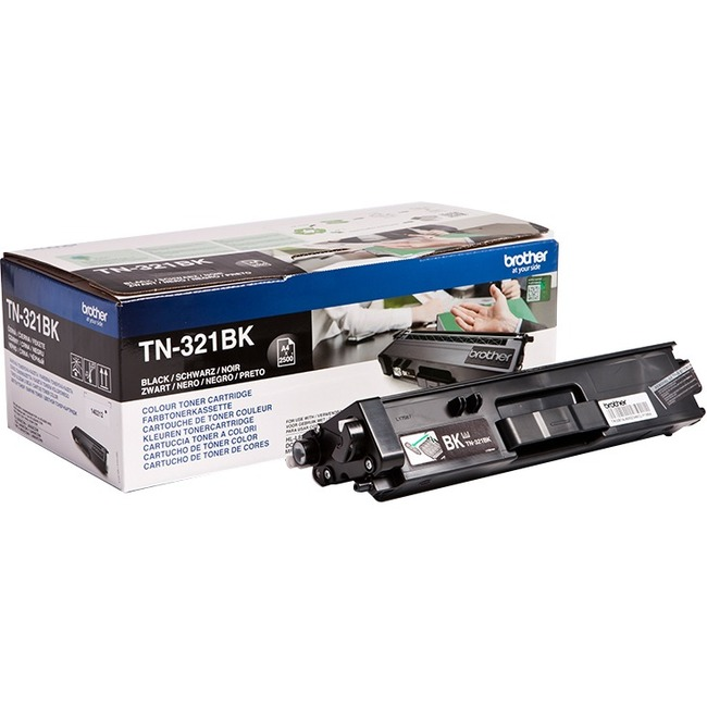 Brother TN-321BK Toner Cartridge - Black