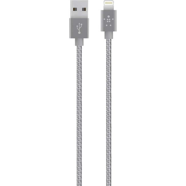 Belkin Grey Lightning/USB 1.20m Data Cable