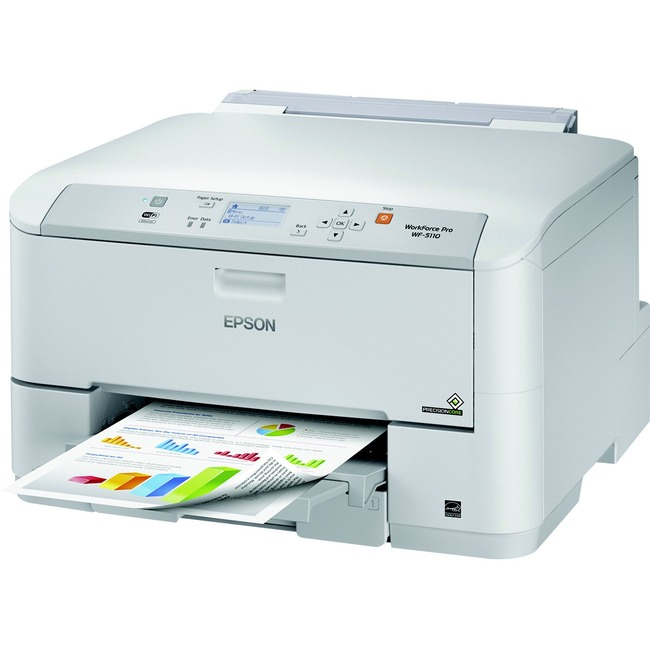 Epson WorkForce Pro WF-5110 Inkjet Printer - Color - 4800 x 1200 dpi Print - Plain Paper Print - Desktop