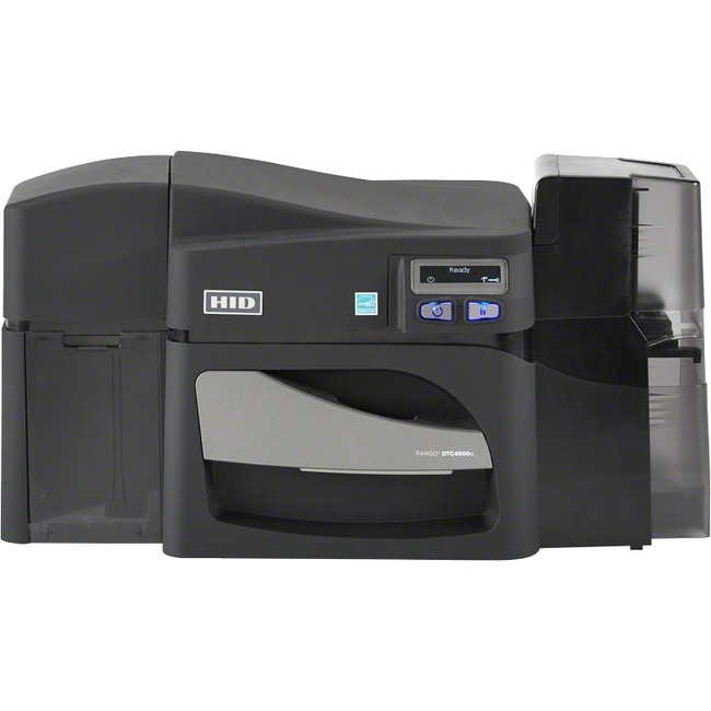 Fargo DTC4500E Double Sided Dye Sublimation/Thermal Transfer Printer - Color - Desktop - Card Print
